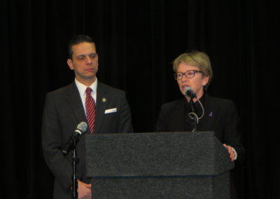 2017 - Assemblywoman Aileen M. Gunther and Assemblymember Angelo Santabarbara